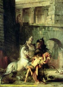 Диомед, разрываемый своими конями