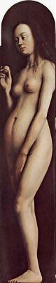 Хуберт ван Эйк. Гентский алтарь: Ева. До 1426-1432 гг.