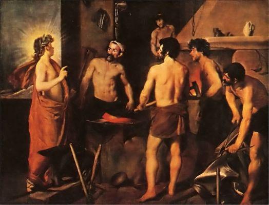 Диего Веласкес. Кузница Вулкана. 1630 г.