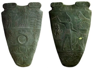 Палетка царя Нармера  (ок. 3000 до н.э.) рис. 5